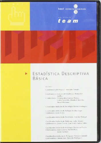 9788483382929: #ESTADISTICA DESCRIPTIVA BASICA ( CD ROM