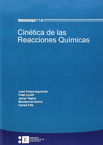 9788483384794: Cinetica De Las Reacciones Quimi