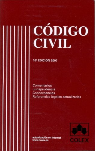 9788483420683: Codigo civil 16ª edicion