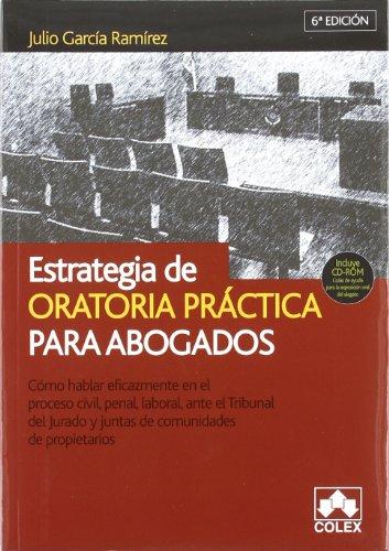 9788483421840: Estrategia de oratoria para abogados