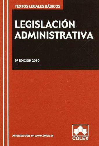 9788483422526: LEGISLACION ADMINISTRATIVA-9¦ED TLB 10