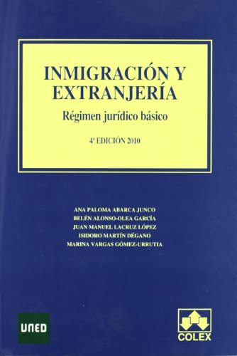 9788483422700: -inmigracion y extranjeria. Reg jur.basico 4ª ed