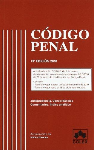 9788483422724: Codigo penal 13ª ed (Codigos Con Jurisprudendia)