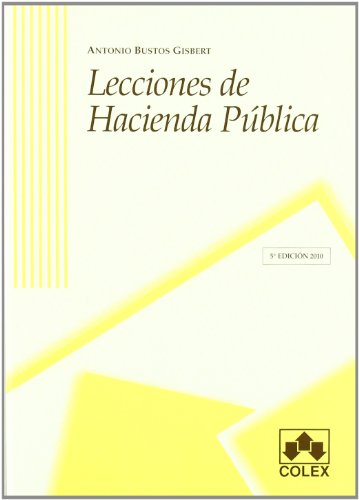 9788483422786: Lecciones de hacienda pAºblica
