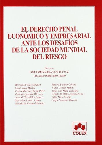 9788483422816: Derecho penal econA³mico y empresarial ante los desafAos de la sociedad mundial de riesgo