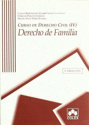 9788483423165: Curso de derecho civil iv 3ª ed.dcho.familia: 4