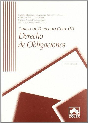 9788483423257: Curso de derecho civil II: Derecho de obligaciones