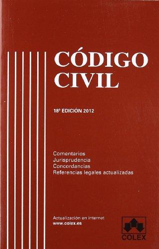 9788483423295: Codigo civil 18 edicion (codigos comentados)