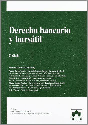 9788483423448: DERECHO BANCARIO Y BURSÁTIL. 2ª EDIC.