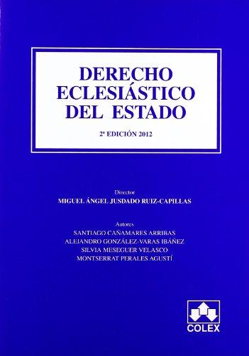 9788483423646: DERECHO ECLESIASTICO DEL ESTADO 2ª ED (MANUALES UNIVERSITARIOS)