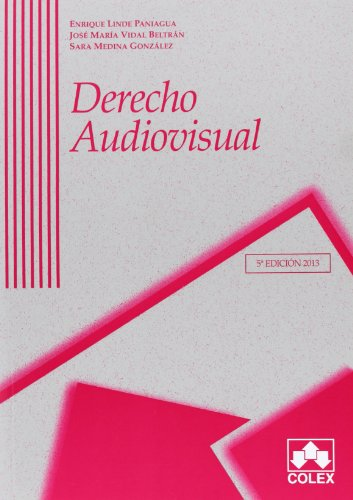 9788483423684: DERECHO AUDIOVISUAL 5 ED.