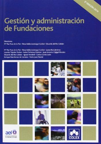 9788483423875: Gestión y administración de Fundaciones (2ª ed.) (MANUALES UNIVERSITARIOS)