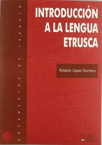 9788483440322: Manual de lengua etrusca (Documentos de trabajo)