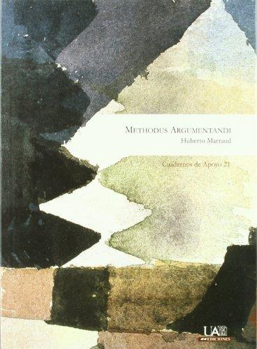 9788483440629: Methodus Argumentandi (Spanish Edition)