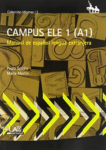 9788483443323: Campus ELE 1 (A1): Manual de española lengua extranjera (Idiomas)