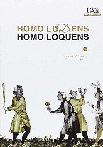 Homo Ludens. Homo Loquens: María Pilar Suárez