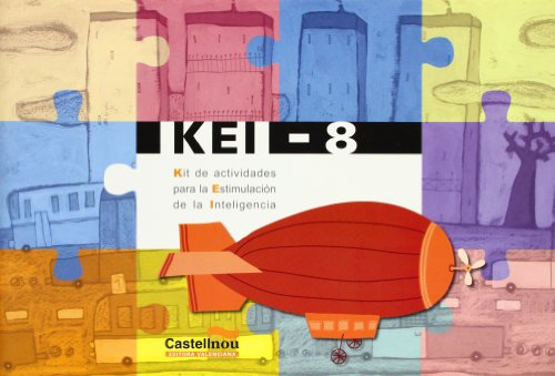 9788483450338: KEI, kit de actividades para la estimulación de la inteligencia, 4 Educación Primaria. Cuaderno 8