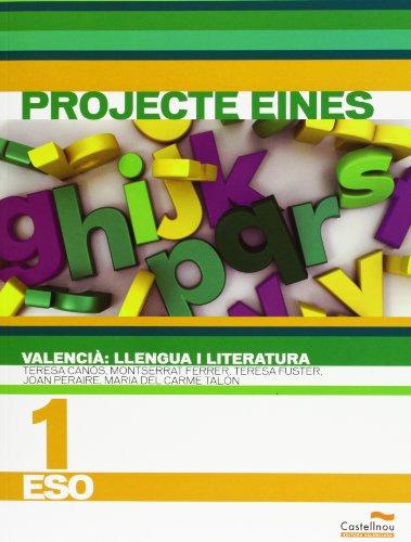 9788483451977: Valencià. Llengua I Literatura 1. Projecte Eines - 9788483451977