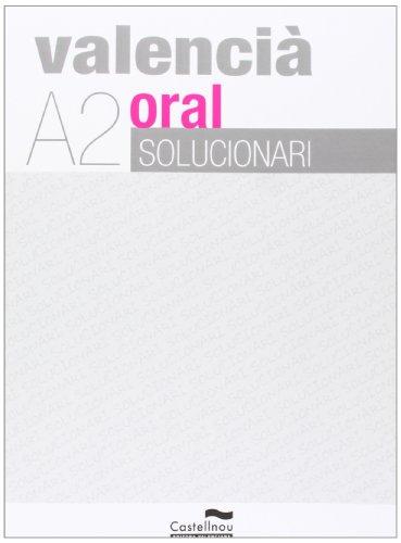 9788483452509: Solucionari ValenciÓ Oral
