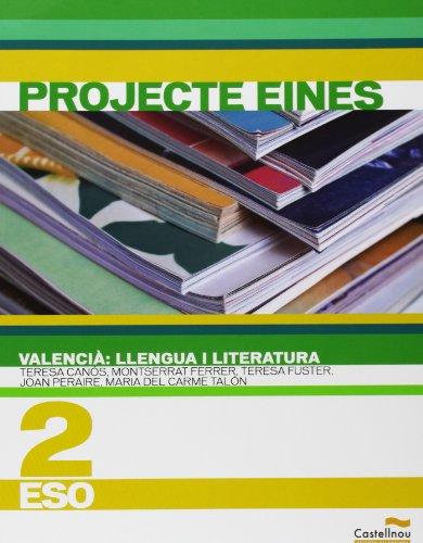 9788483452516: Valencià. Llengua I Literatura 2. Projecte Eines - 9788483452516