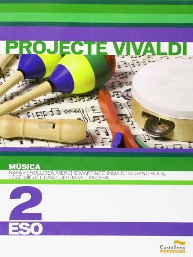 9788483452554: Música 2n ESO. Projecte Vivaldi (en valencià) (Libros de texto) - 9788483452554