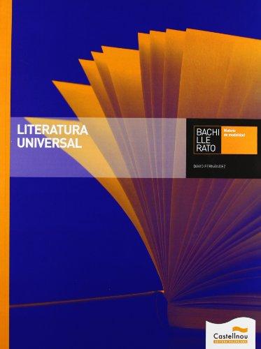 9788483453384: LITERATURA UNIVERSAL.1.BACH.(+CD)