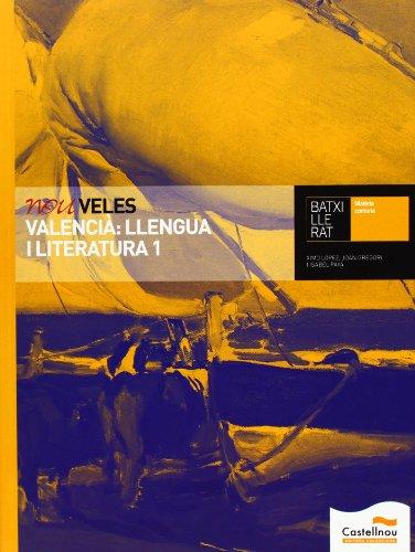 9788483453407: Nou Veles. Valencià: Llengua I Literatura 1 - 9788483453407