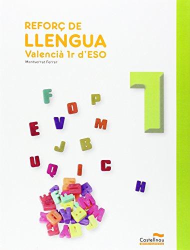 9788483453797: Reforç De Llengua. Valencià. 1R ESO - 9788483453797