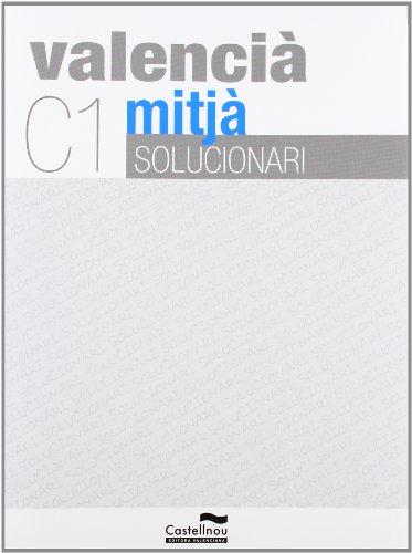 9788483454848: Solucionari C1 Valencia Mitja