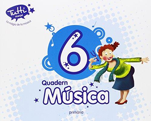 9788483484210: Quadern Música 6 (Valenciano) - 9788483484210