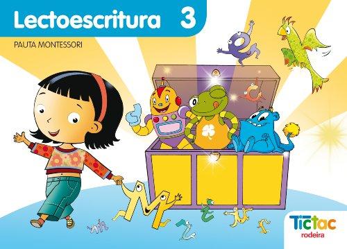 9788483491362: Lectoescritura 3 Pauta Montessori - 9788483491362