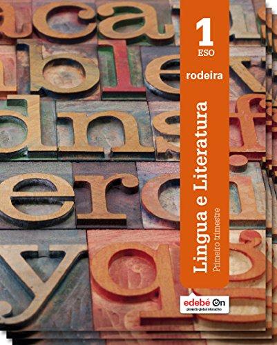 9788483494196: Lingua galega literatura 1ºESO Trimestral