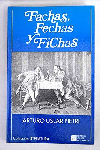 9788483500170: Fachas, fechas y fichas (Colección Literatura)