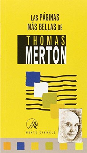 9788483530160: PAGINAS MAS BELLAS DE THOMAS MERTON