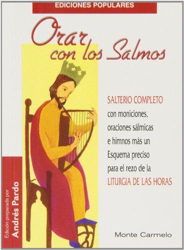 9788483530610: Orar con los Salmos (Ediciones Populares)