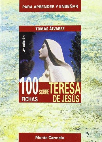 9788483533383: 100 FICHAS SOBRE TERESAA DE JESUS