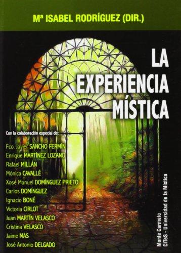 9788483535479: La experiencia mística (Antropología, Psicología y Espiritualidad)
