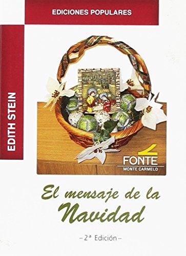 9788483538692: Edith Stein. El mensaje de la Navidad (Ediciones populares)