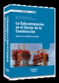 La subcontratación en el sector de la: García Blasco, Juan