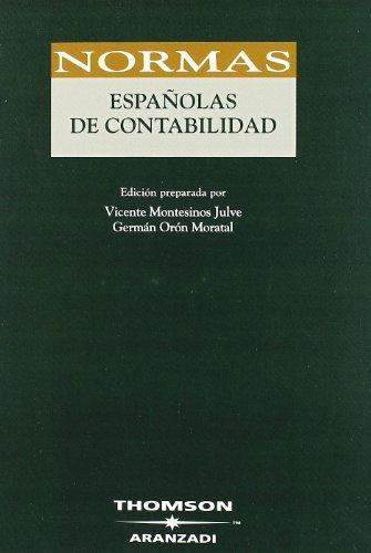 9788483555903: Normas españolas de Contabilidad (Código Profesional)