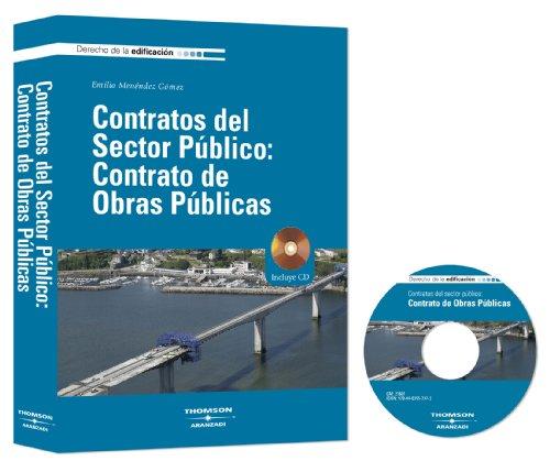 9788483557372: Contratos del sector público: Contrato de obras públicas: Incluye CD (Derecho de la Edificación)