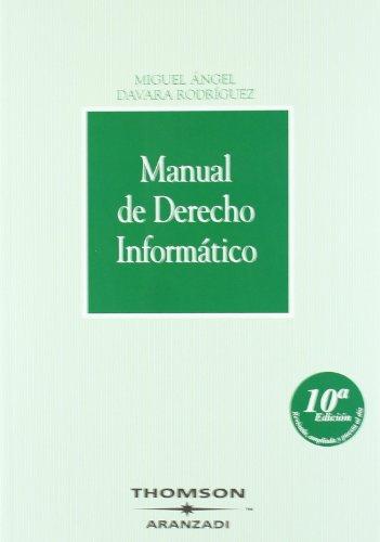 9788483558195: MANUAL DE DERECHO INFORMATICO