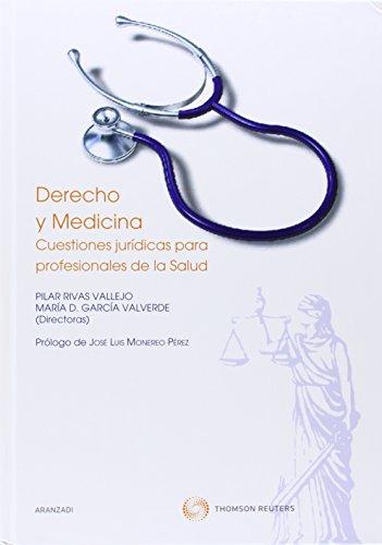 9788483559291: Derecho y Medicina - CUESTIONES JUR-DICAS PARA PROFESIONALES DE LA SALUD