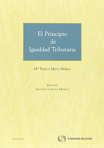 9788483559574: El principio de igualdad tributaria (Monografía)