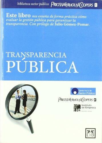 9788483560105: Transparencia Pública (Acción Empresarial)