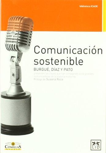 Comunicacion Sostenible: BURGUé, PABLO, DíAZ,