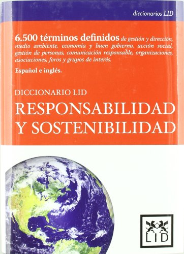 9788483561393: Diccionario lLID responsabilidad y sostenibilidad