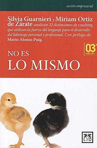 No Es Lo Mismo (Paperback): Silvia Guarnieri, Miriam