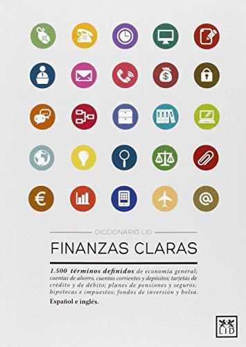 9788483568415: Diccionario Lid Finanzas claras (Diccionarios LID)