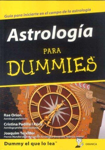 9788483580493: ASTROLOGIA PARA DUMMIES
